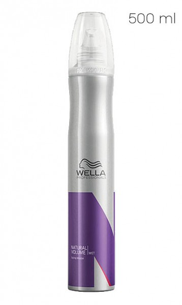 Wella Wet Natural Volume Styling Mousse strong, 500 ml