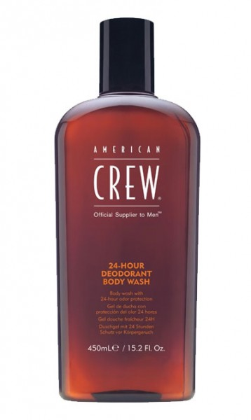 American Crew 24h Deodorant Body Wash, 450 ml