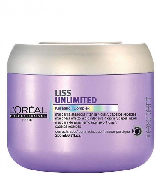 Loreal Liss Unlimited Maske 200 ml (Sale)