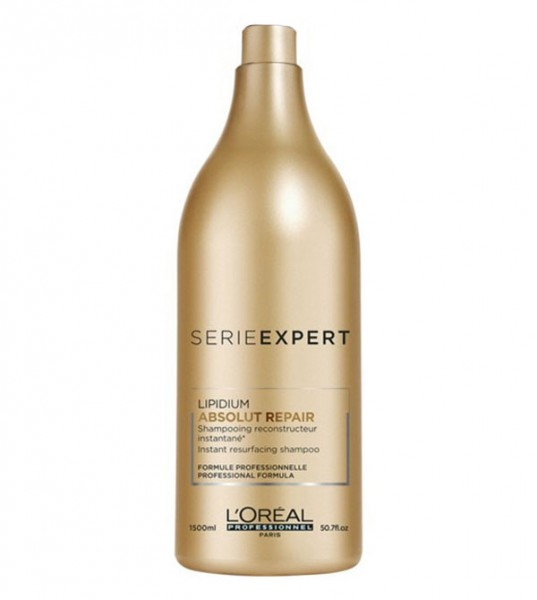 Loreal Absolut Repair Lipidium Shampoo, 1500 ml