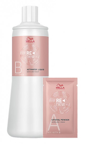 Wella Color Renew Set Activator Liquid + Cristal Powder