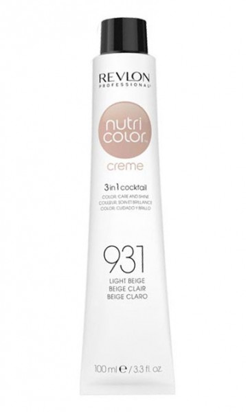 Revlon Nutri Color Creme Hellbeige (931), 100 ml