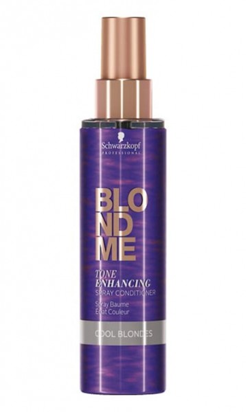 BLONDME Tone Enhancing Spray Conditioner Cool Blonde, 150 ml