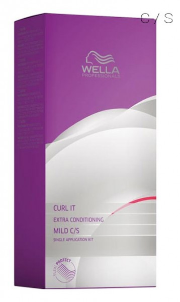 Wella Curl it Extra Conditioning Kit Mild C/S