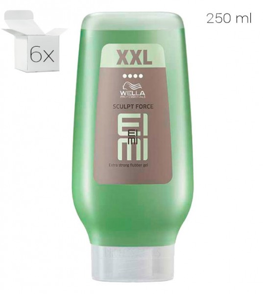 Wella EIMI Texture Sculpt Force Flubber Gel  XXL, 6 x 250 ml