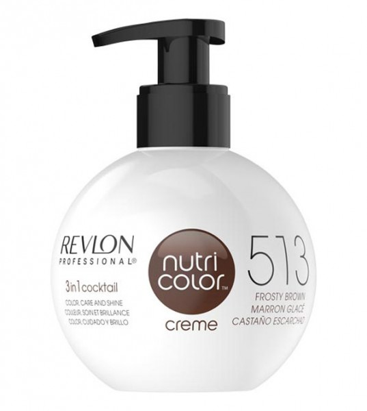 Revlon Nutri Color Creme Hellkastanie (513), 250 ml
