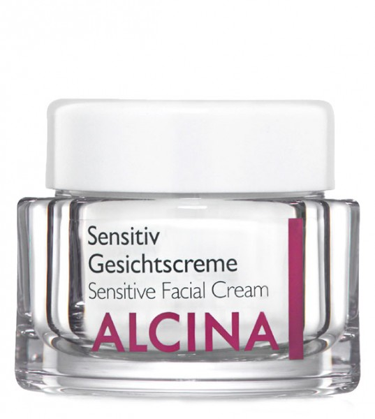 Alcina Sensitiv Gesichtscreme, 50 ml