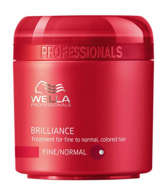 Wella Care Brilliance Mask für feines Haar, 150 ml