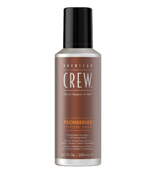 American Crew Techseries Texture Foam, 200 ml