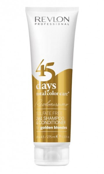 Revlon Revlonissimo 45 days Conditioning Shampoo Golden Blondes, 275 ml
