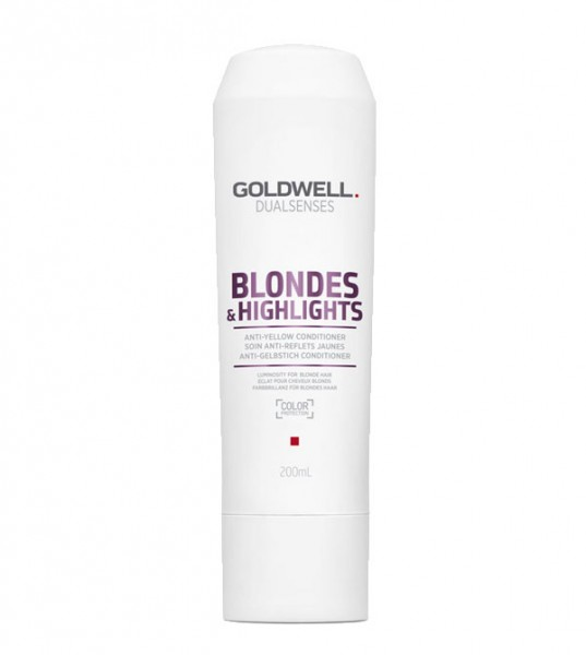 Goldwell Blondes & Highlights Anti Gelbstich Conditioner, 200 ml