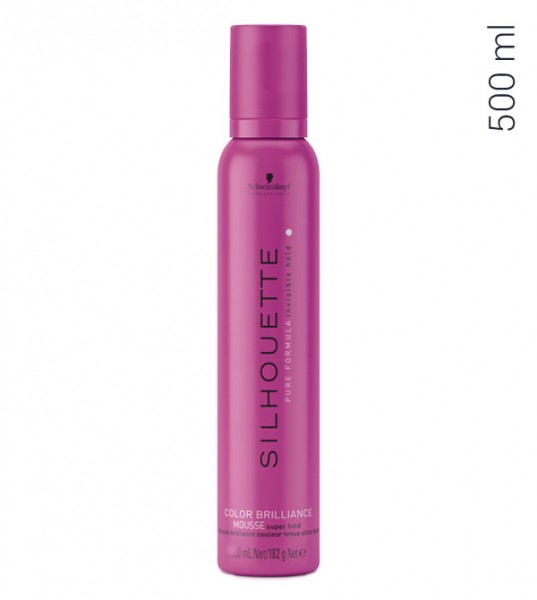 Schwarzkopf Silhouette Color Brilliance Super Hold Mousse, 500 ml
