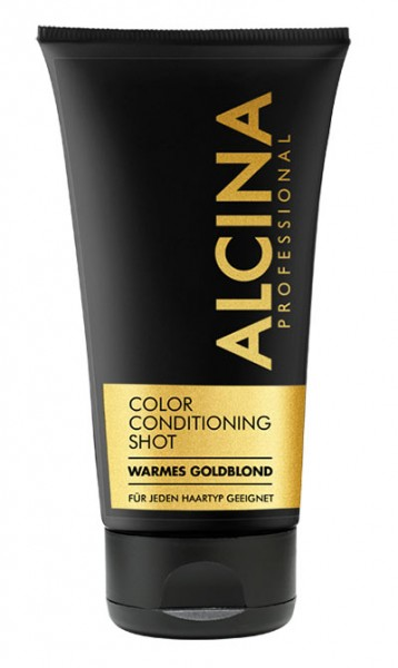 Alcina-Color Conditioning Shot Gold 150 ml