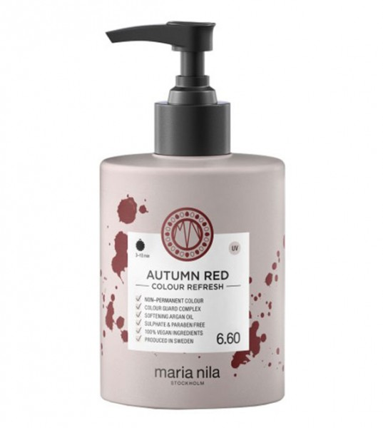Maria Nila Colour Refresh Autumn Red 6.60, 300 ml