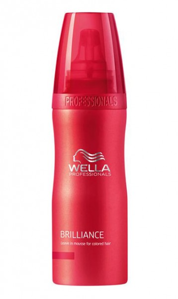 Wella Care Brilliance Leave-in Mousse, 200 ml