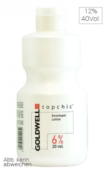 Goldwell Topchic Cream Developer Lotion 12% 40Vol, 1000 ml (Restposten)