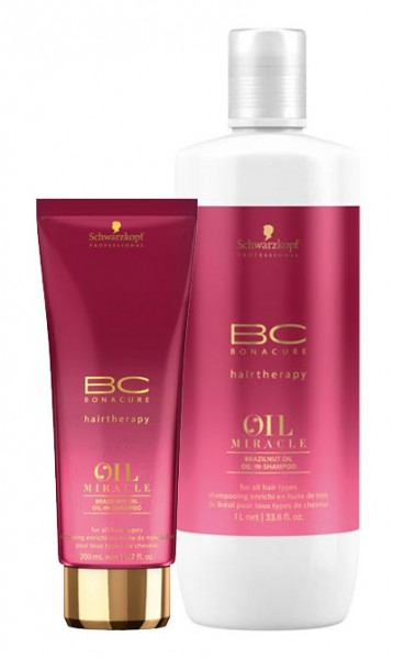 BC BONACURE Oil Miracle Brazilnut Shampoo 1000 ml