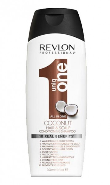 Revlon uniq ONE Coconut Conditioning Shampoo, 300 ml