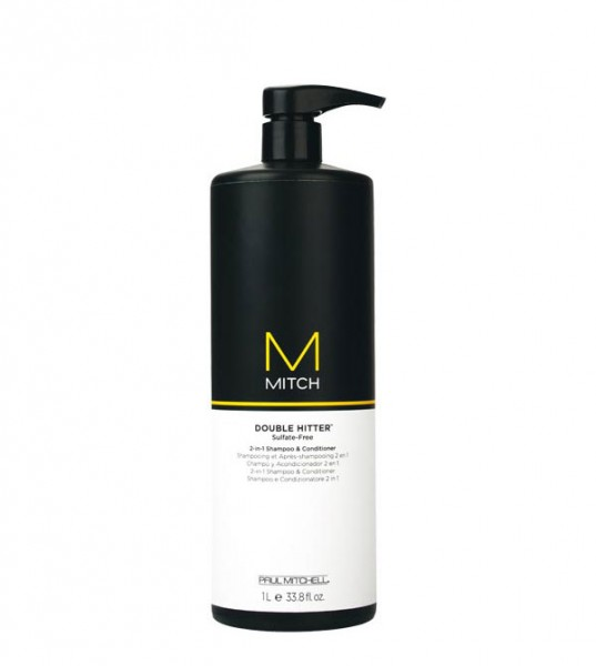 Paul Mitchell Mitch Double Hitter Shampoo & Conditioner 1000 ml