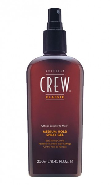 American Crew Medium Hold Spray Gel, 250 ml