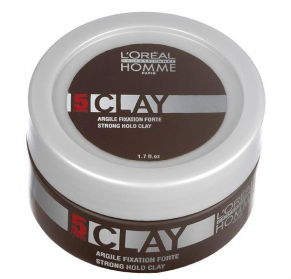 Loreal Homme Clay Haarpaste, 50 ml