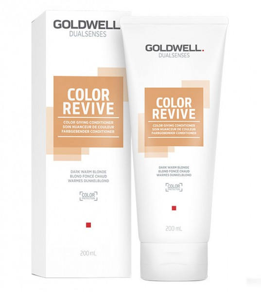 Goldwell Color Revive Conditioner warmes dunkelblond 200 ml