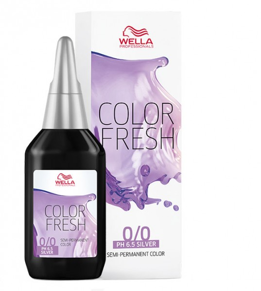 Wella Color Fresh Silver 0/8, 75 ml