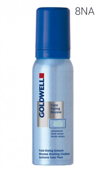 Goldwell Styling Mousse 8-NA Hell Natur Asch Blond, 75 ml