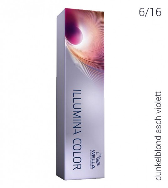 Wella Illumina Color 6/16 dunkelblond asch violett