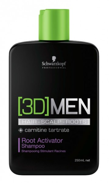 3D Mension Root Activator Shampoo, 250 ml