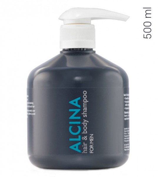 Alcina Hair and Body Shampoo For Men 500 ml