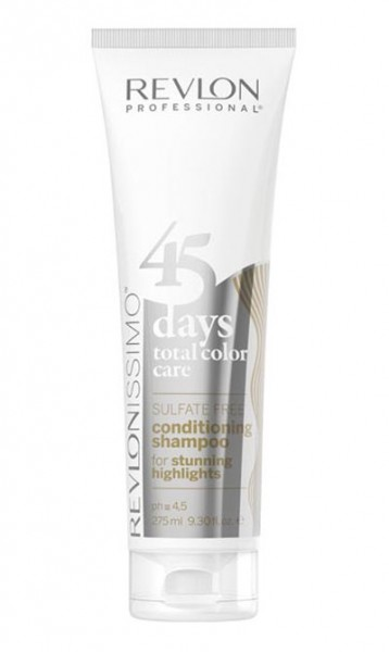 Revlon 45 days Shampoo Stunning Highlights 275 ml