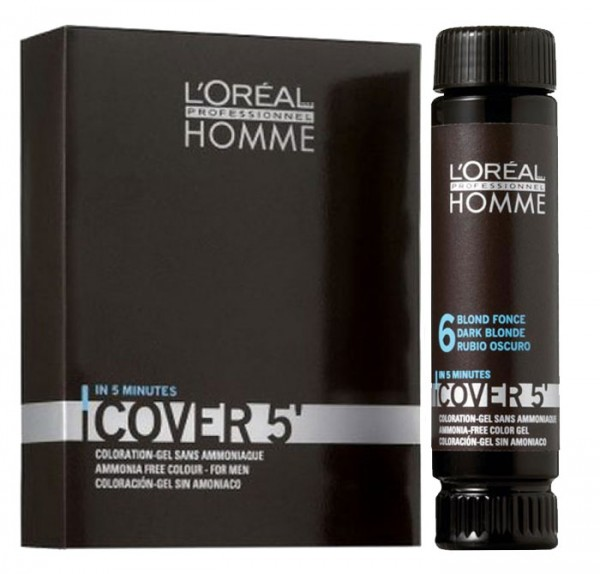 Loreal Homme Cover 5 Grauhaarkaschierung, 3 x 50 ml