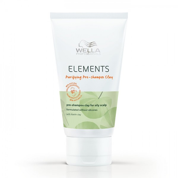 Wella Professionals Elements Purifying Pre-Shampoo Clay 70ml