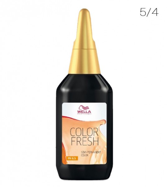 Wella Color Fresh 5/4 Hellbraun Rot 75 ml