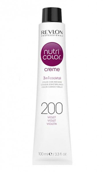 Revlon Nutri Color Creme Violett (200) 100 ml