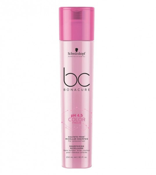 BC Bonacure pH 4.5 Color Freeze Micellar Sulfate Free Shampoo 250 ml