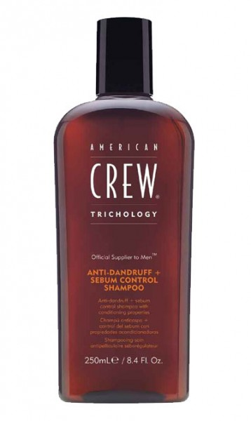 American Crew Trichology Anti Dandruff + Sebum Shampoo 250 ml