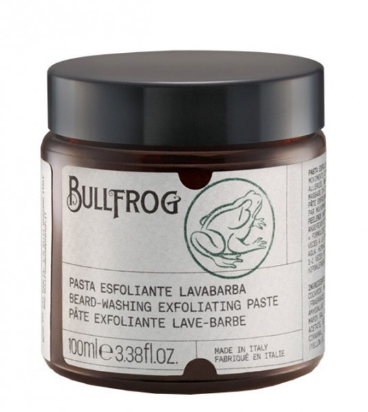 Bullfrog Beard-washing Exfoliating Paste 100 ml
