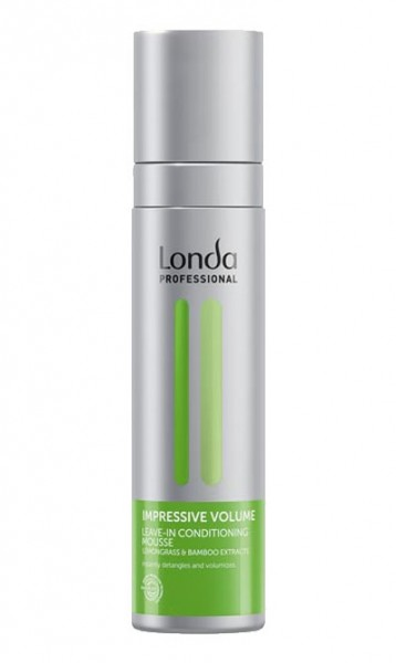 Londa Impressive Volume Leave-In Conditioning Mousse, 200 ml