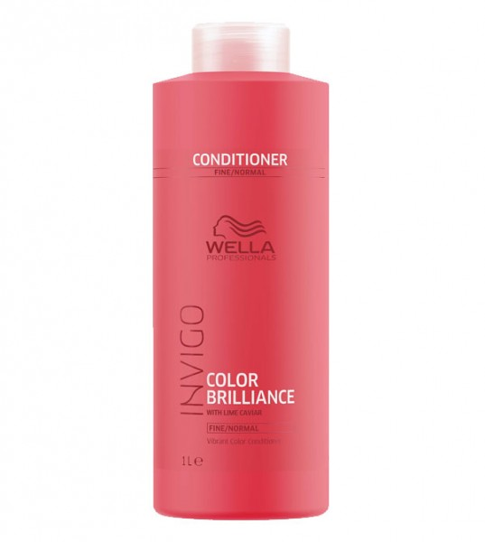 Wella Invigo Brilliance Conditioner Fine, 1000 ml