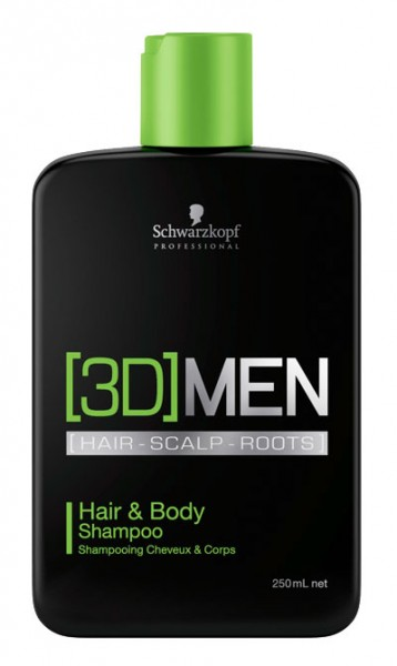 3D Mension Hair & Body Shampoo, 250 ml
