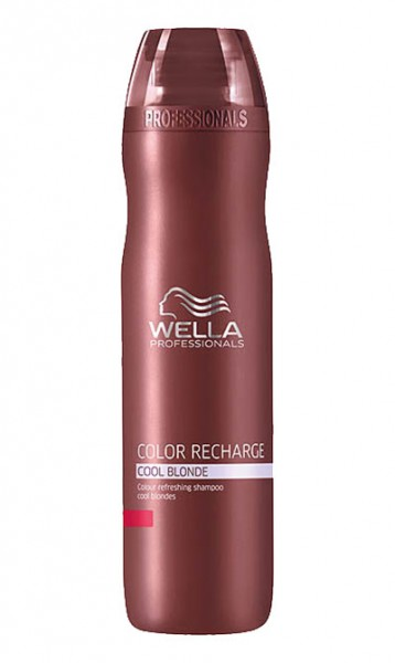 Wella Care Color Recharge Cool Blonde Shampoo, 250 ml