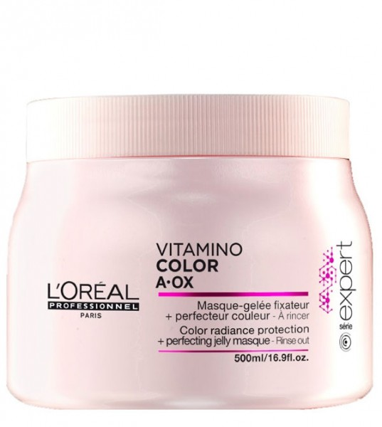 Loreal Vitamino Color AOX Gelmaske für coloriertes Haar, 500 ml