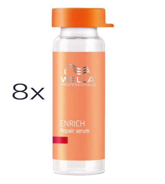 Wella Care Enrich Repair Serum, 8 x 10 ml