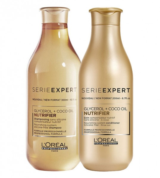 Loreal Nutrifier Set, Shampoo + Conditioner, 300 ml + 200 ml