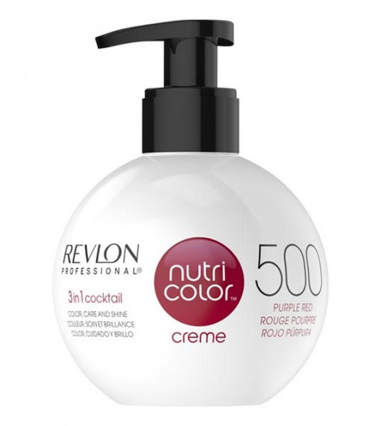 Revlon Nutri Color Creme Purpurrot (500), 250 ml