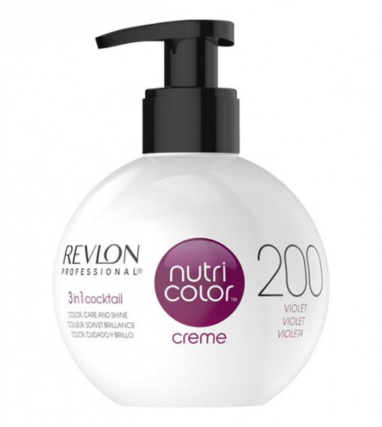 Revlon Nutri Color Creme Violett (200), 250 ml
